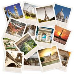 Polaroid vintage di Parigi