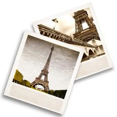 Polaroid Tour Eiffel vintage
