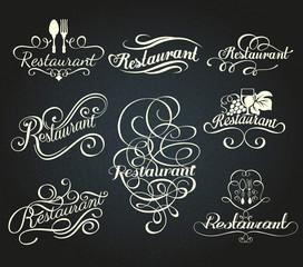 vintage style restaurant menu designs