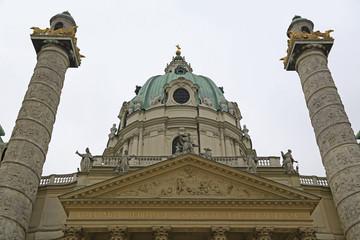 Wall Mural - Die Karlskirche in Wien