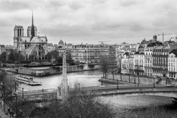 Notre dame de Paris, France.
