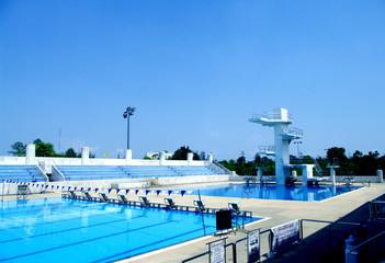 standard swimming pool outdoor