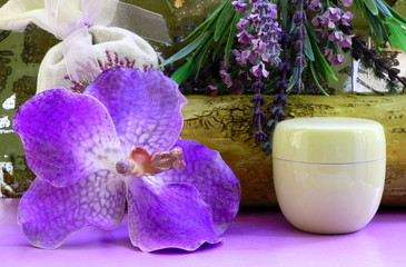 Orchid and box
