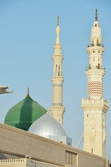 Fotomurales - Prophet Muhammed holy mosque in Medina, KSA