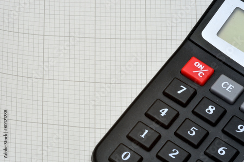 Calculator And Graph Paper Stock Photo And Royalty Free Images On