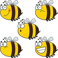 Cartoon Bees - Assorted