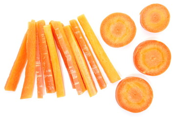 Sweet and fresh carrots vegetable