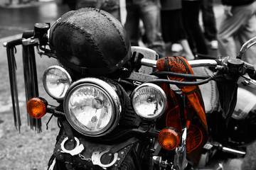 Motorbike Harley detail