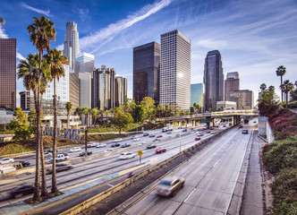 Foto op Plexiglas Los Angeles Downtown Los Angeles, California Cityscape