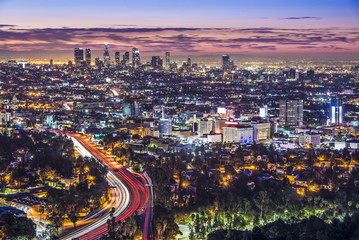 Keuken foto achterwand Los Angeles Downtown Los Angeles, California Skyline