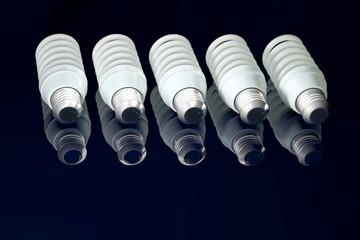 Energiesparlampen - 3d Render