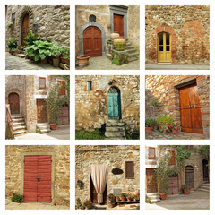 rustic tuscan doors collection