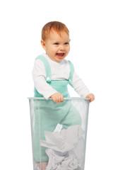 Baby in the bin
