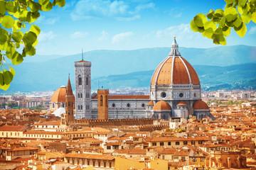Zelfklevend Fotobehang Florence Basilica di Santa Maria del Fiore