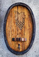 old wine cask