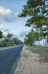 Australian Countryside Road - Mission Beach, Queensland