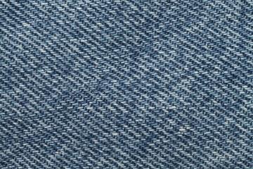 Blue Denim Background Close Up