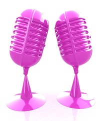 Glossy microphones