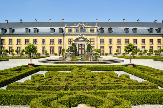 Old palace in Herrenhausen Gardens, Hannover, Lower Saxony