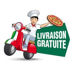 Pizza - Livraison gratuite