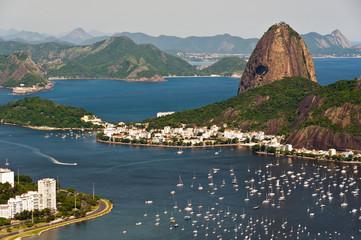 Fototapete - Sugarloaf Mountain, Rio de Janeiro, Brazil