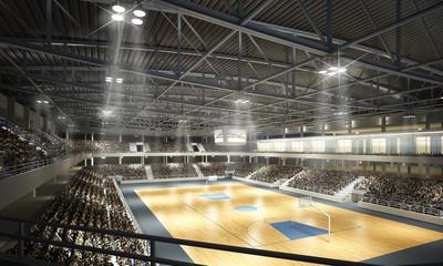 Fotobehang - Basketballhalle