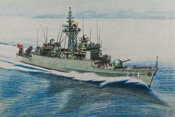 Japanese frigate