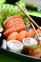 Printed roller blinds Sushi bar Japanese food