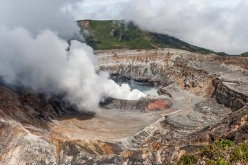 Volcano Poas in Costa Rica Fototapete