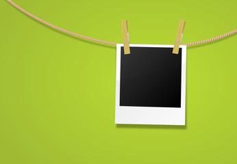 Polaroid Leine grün