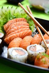 Printed roller blinds Sushi bar Japanese food - sushi