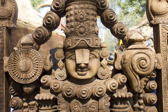 lord venkateshwara in surajkund fair