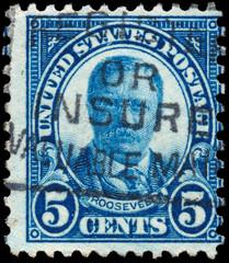 UNITED STATES - CIRCA 1922: Vintage US Postage Stamp celebrating
