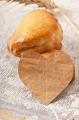 valentines and bakery products