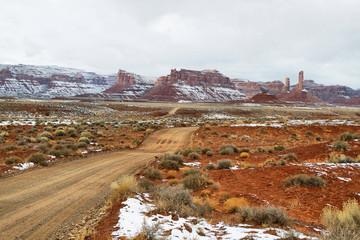 Valley of Gods in winter