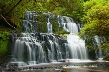 Fototapete - Purakaunui Falls