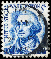 UNITED STATES AMERICA - CIRCA 1970: A postage stamp printed in t