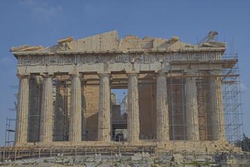 Parthenon ancient Greek temple, Acropolis of Athens