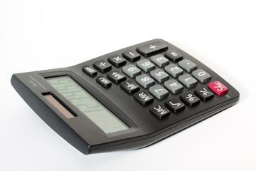 calculator isolated background