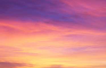 Fototapeta Colourful Sky Background