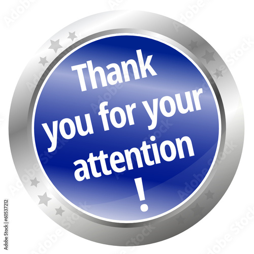 Quot thank you for your attention quot stockfotos und lizenzfreie