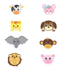 Set de Animais Fofos