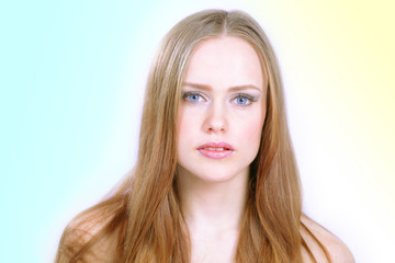 Beautiful model, portrait