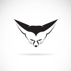 Vector image of an fox head