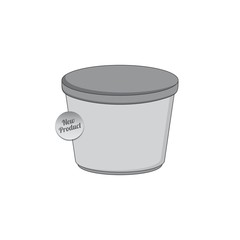 container industry packaging template