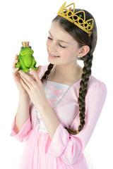 Prinzessin mit Froschkönig