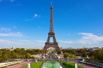 Wall Mural - Eiffel Tower in Paris
