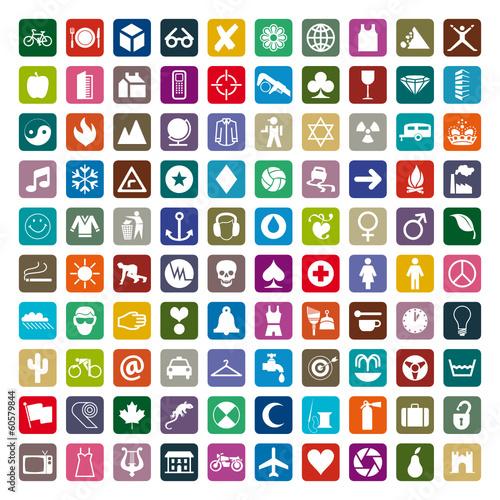 u0026quot symboles et pictogrammes pour internet u0026quot  fichier vectoriel