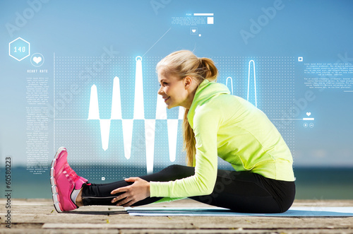 Heart rate after exercise recovery