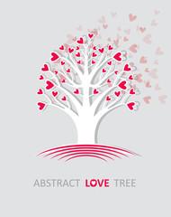 Abstract love tree.